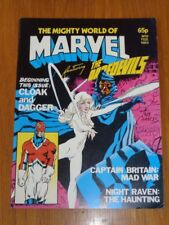 MIGHTY WORLD OF MARVEL VOL 2 #9 FEBRUARY 1984 BRITISH MONTHLY ALAN MOORE