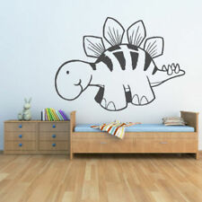 Pegatinas y plantillas de pared vinilos de dibujos animados para el hogar