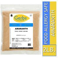 Amaranth, 2 LBS Food Allergy Safe, Vegan & Non GMO by Gerbs