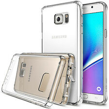 New Slim Transparent Crystal Clear Hard TPU Case Cover For Samsung Galaxy Note 5