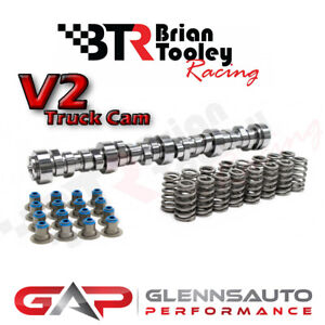 Brian Tooley Racing (BTR) NEW Stage 3 V2 LS Truck Cam Kit - 4.8/5.3/6.0