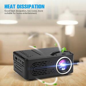 Mini LED Projector HD 1080P Portable Video Movie Home Theater Cinema HDMI AV USB