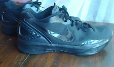 Nike Zoom Hyperdunk 2011 Low Mens Basketball All Black Shoes Size 13