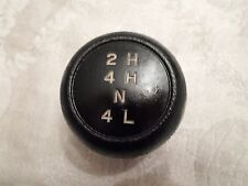 "Ford  OEM vintage transfer case shifter knob 3/8"" thread 2H on top"