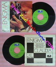 LP 45 7''PINO CALVI Enigma Claudia 1980 italy CGD 10239 due sorelle no cd mc dvd