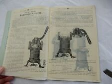 1904 DENTAL EQUIPMENT CATALOG  VULKANISER EQUIP  48 PAGES WELL ILLUS