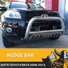 "Toyota Rav4 06-12 Nudge Bar 3"" Stainless Steel Grille Guard+ Skid Plate"