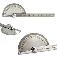 180° Winkelmesser Edelstahl Messwerkzeug Maßstab Schmiege Lineal Neu