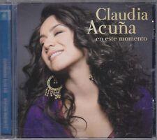 CLAUDIA ACUNA - en este momento CD
