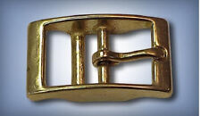 "5ea 5/8"" Squared Double Bar Buckles Solid Brass Q147B"