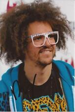 LMFAO: REDFOO SIGNED 6x4 PORTRAIT PHOTO+COA *SEXY AND I KNOW IT* *PARTY ROCK*