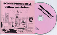 BONNIE PRINCE BILLY Wolfroy Goes To Town 2011 UK 10-trk promo CD card sleeve