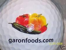 Food (1) Garon Foods .Com Logo Golf Ball Balls