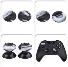 10 Sets Black  White Camo Thumbsticks Grips for Xbox 360 One PS3 PS4 Controller