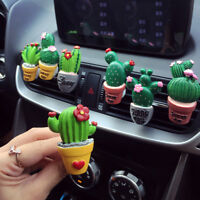 Car air freshener plants perfume vent outlet air conditioning fragrance clips DR