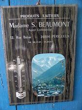 GLACOIDE THERMOMETRE PRODUITS LAITIERS PERIGUEUX Mme Beaumont