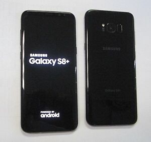 New Store Retrn Samsung Galaxy S8+ Plus G955U G955U1 Black GSM Unlocked T-Mobile