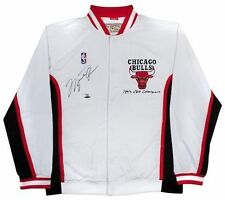 MICHAEL JORDAN Authentic Signed 1993 Home Warm-up Jacket LE 21/23 UDA