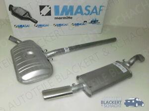 IMASAF Auspuffset ab Kat für VW Corrado 1.8 G60 PG 1988-1991  Mitteltopf+Endtopf