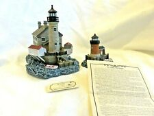 Front & Rear Range South Channel Set St Clair Michigan Lighthouse - Free Ship