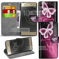 For Sony Xperia XA1 -Wallet Leather Case Flip Stand Cover + Screen Protector