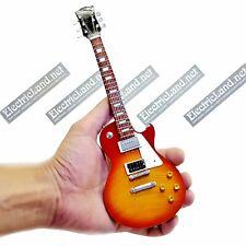 Mini Guitar scale 1:4 JIMMY PAGE Les Paul miniature model collectible zeppelin
