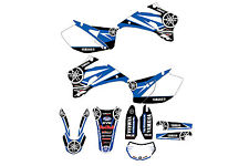 Yamaha WR250F 2007 to 2013 WR450F 2007 to 2011 graphic kit decals stickers mx