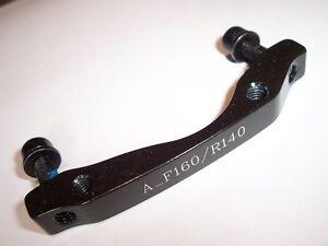 Avid Disc Mount Adapter, 0mm IS (Front 160mm, Rear 140mm)