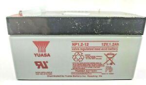 YUASA    NP1.2-12   12 VOLT 1.2 Ah   Lead Acid Battery   OEM
