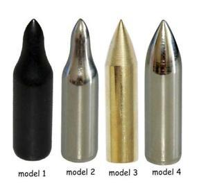 20pcs Archery Points Tips Target Broadheads ID 8mm Arrowheads Field Hunting