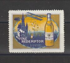 French Poster Stamp Aviation Drink