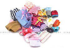 Kids Gift Random 20x Clothes For Mini Baby Sylvanian Families Doll Dress Tops