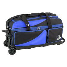 High-quality Bowling Ball Carrier Bag Bowling Cleaner Bag Black//Blue