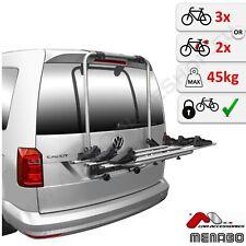 Fahrradheckträger für Heckklappe 3 Fahrräder VW Volkswagen Caddy 2K IV 2015-2020