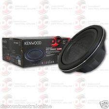 "KENWOOD KFC-XW800F 8"" SINGLE 4-OHM SHALLOW MOUNT CAR AUDIO SUBWOOFER 150W RMS"
