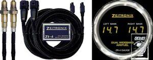 Zeitronix ZT4 + ZR4 Display, AFR Mess-System mit Lambda - Sonde
