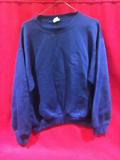 NOS VINTAGE VANS SWEATSHIRT NAVY SZ LARGE  BMX FREESTYLE RACING