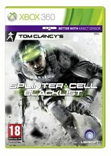 XBOX 360 TOM CLANCY'S SPLINTER CELL BLACKLIST ** Nuovo e Sigillato ** UFFICIALE STOCK Regno Unito