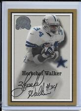 2000 FLEER GREATS OF THE GAME HERSCHEL WALKER SP AUTOGRAPH DALLAS COWBOYS