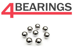 "Weldtite Loose Bike Ball Bearings 1/8"" 5/32"" 3/16"" 7/32"" 1/4"" + 5/16"""