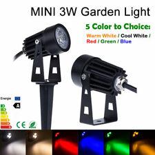 12V 110V 220V 3W Outdoor LED Landscape Light IP65 Garden Grass Lighting 6 Colors