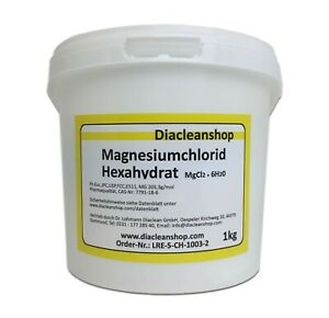 Magnesiumchlorid Hexahydrat - E511 - Pulver in Pharma-Qualität 1kg