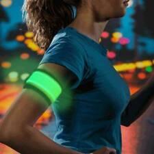 Sports Reflective LED Light Arm Armband Strap Safe Belt Night Running Cycling UK