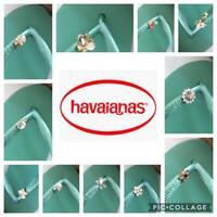 Original Havaianas SLIM Green Tea Crystal Or Personalized Crystal Charms
