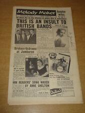 MELODY MAKER 1956 OCTOBER 20 VIC LEWIS LIONEL HAMPTON JAMBOREE SHIRLEY BASSEY +