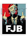 FJB - ANTI JOE BIDEN Funny Bumper Sticker Decal F Joe 46 D& 5 x 4 Trump