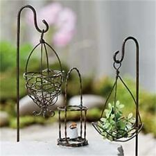 Fairy Garden Mini - Mini Antique Accessories Set of 3 (No Shepherd Hooks)