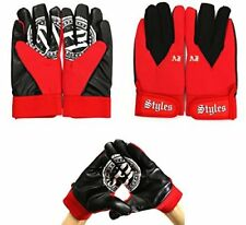 AJ STYLES PHENOMENAL RED OFFICIAL REPLICA GLOVES WWE WRESTLING FANCY DRESS UP