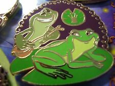 THE princess and The Frog ~ Prince Naveen & Tiana Frogs Pin Excellent Condition