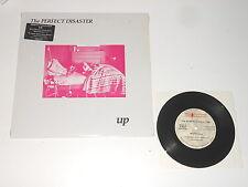 "The Perfect Disaster - LP - Up + BONUS 7"" Single - Fire Records FIREUS1-1"